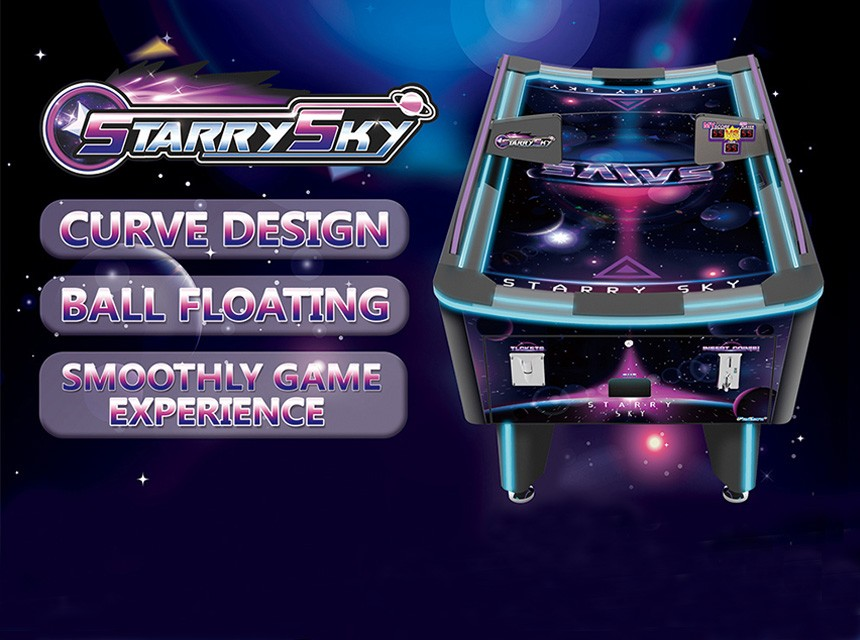 Starry Sky Air Hockey
