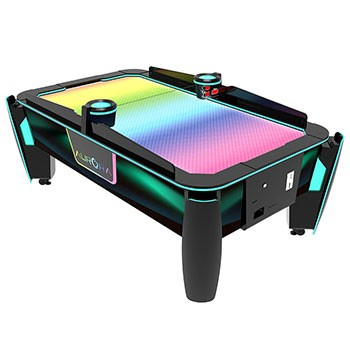 Aurora air hockey table - flat surface