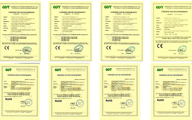Funshare Company Certificate